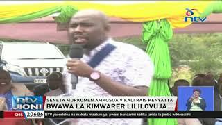 Murkomen amkosoa Rais Uhuru kwa kufutilia mbali mradi wa Kimwarer