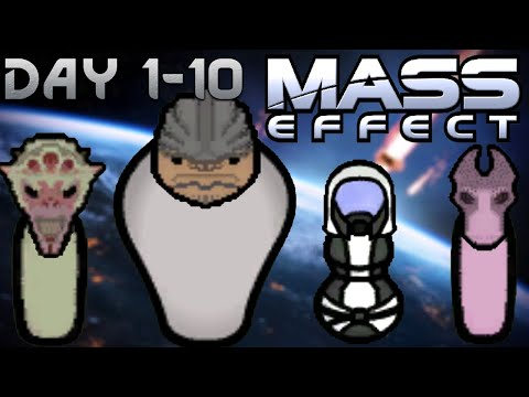 *NEW* Mass Effect Expansion in RimWorld is AWESOME! Rim Effect Days 1-10  
