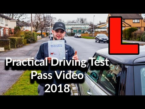 Full Real Uk Practical Driving Test Pass Video   Bradford Heaton route  