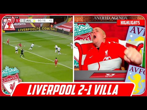 TRENT SCREAMER! Liverpool Fan Reacts to Liverpool 2-1 Aston Villa Highlights