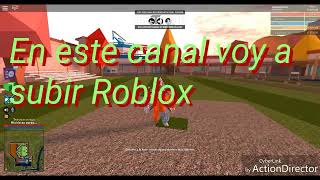 Presentation of my channel-Roblox