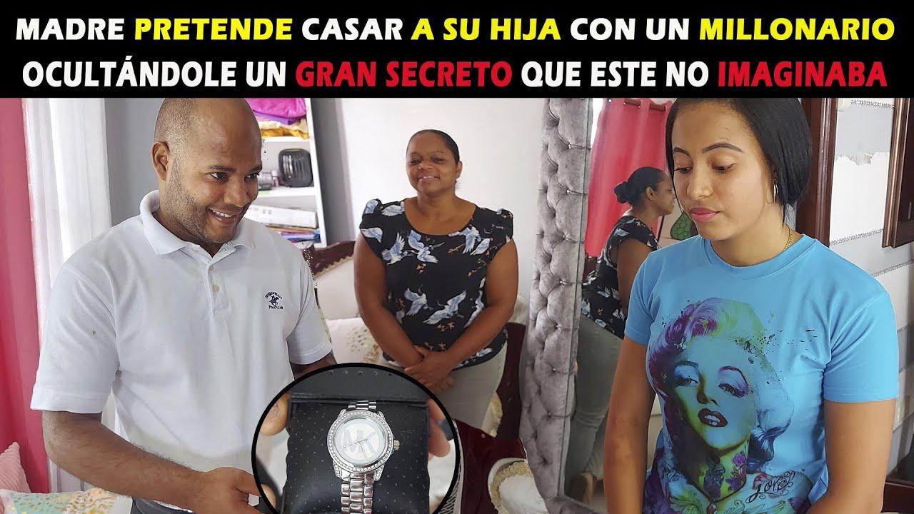 Madre pretende casar su hija con un millonario ocultandole un gran secreto que este no imaginaba