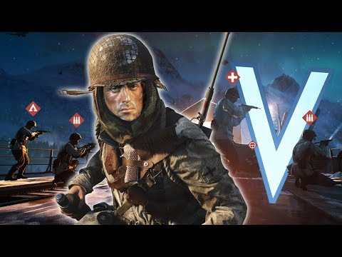 THE CRAZIEST RAMBO FLANKS IN BATTLEFIELD 5 thumbnail