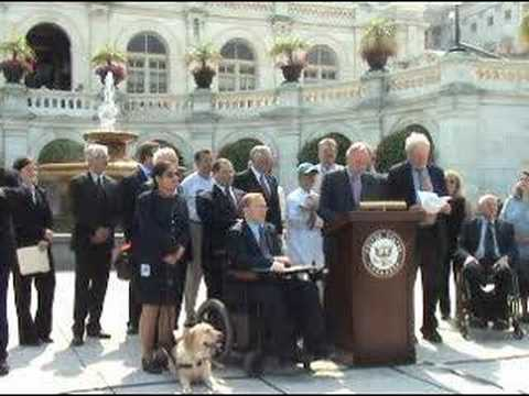 Tom Harkin Introduces the ADA Restoration Act in the Senate