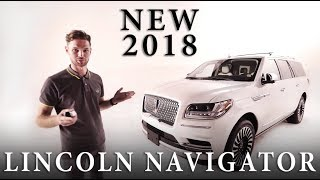 Обзор new LINCOLN NAVIGATOR 2018. MAYORCARS - auto agency.