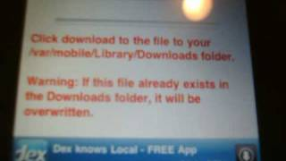 How to Download MP3 Music Files straight to your Jailbroken IPhone/IPod
