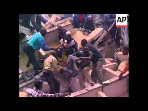 The 1998 US Embassy Bomb In Nairobi, Kenya