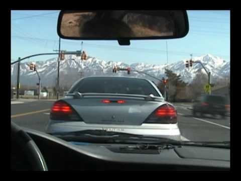 Time Lapse - Driving in Salt Lake City