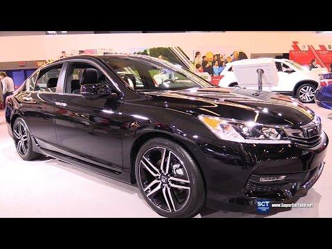 2016 Honda Accord Sport - Exterior and Interior Walkaround - 2016 Montreal Auto Show