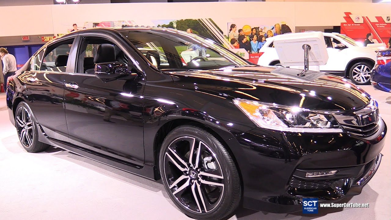 2016 Honda Accord Sport Exterior And Interior Walkaround 2016 Montreal Auto Show Youtube