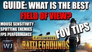 What is the best FoV setting for PUBG? I've tested mouse sensitivit...