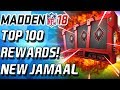 TOP 100 REWARDS! NEW ANKLE BULLY JAAMAL CHARLES - Madden 18 Ultimate Team