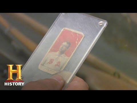 Pawn Stars: 1909 Cy Young Baseball Card (Season 5) | History