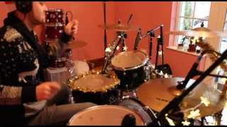 Christmas Drum Cover - The Darkness - Don