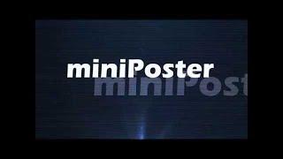 Обучение miniPoster для начинающих. Добавление шаблонов, групп и их редактирование