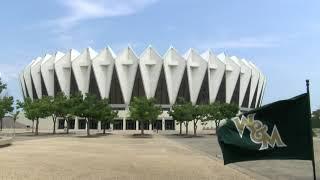 William & Mary Athletics Flag at the Hampton Coliseum