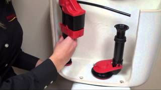How to install a Korky WaterWISE Toilet Fill Valve