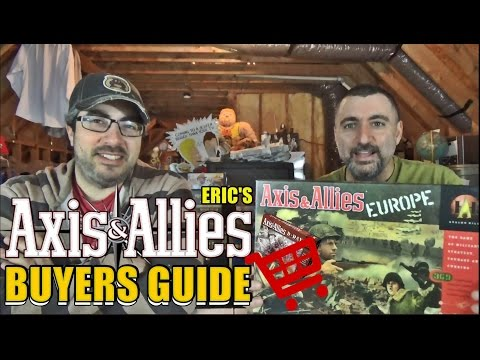 'Axis & Allies' - A Buyers Guide