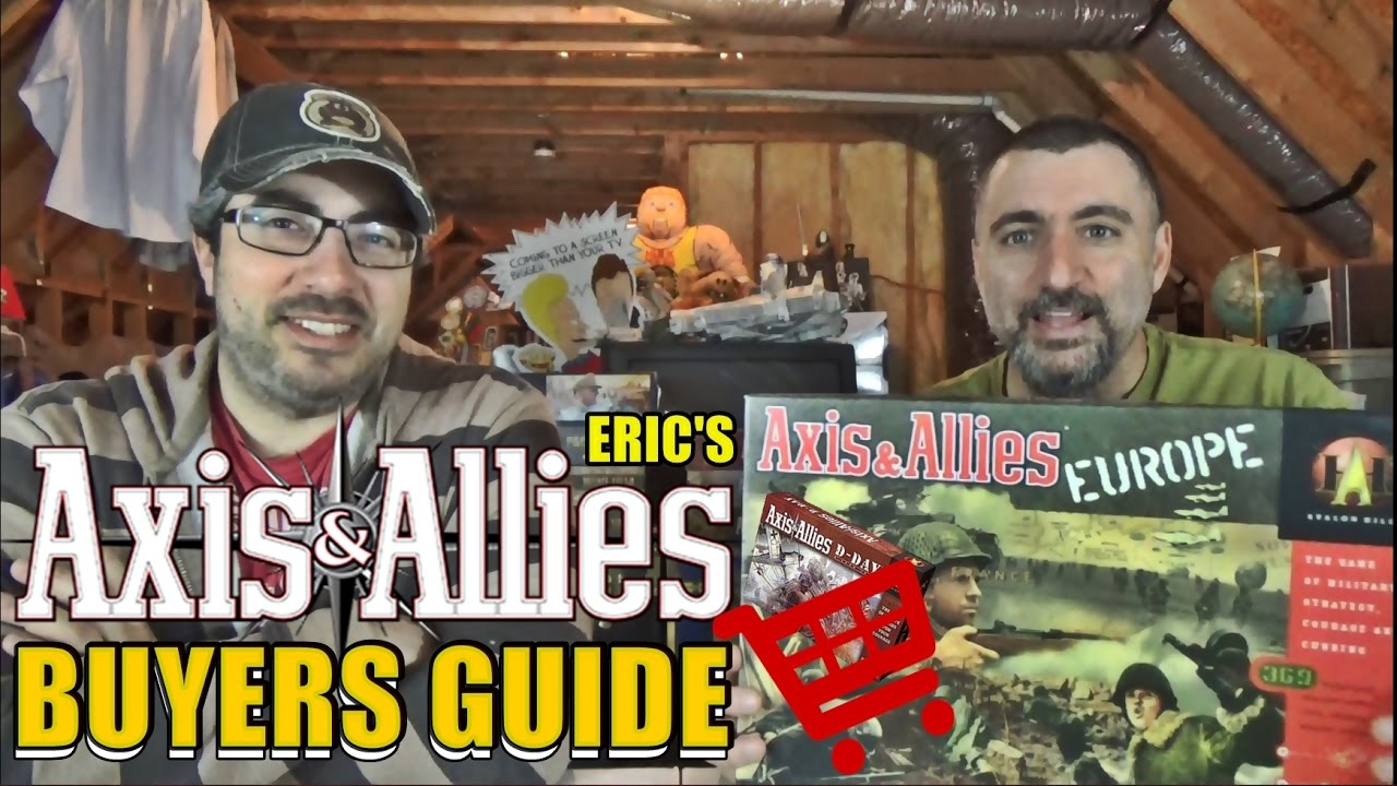 Best Axis and Allies Game Editions | LitRPG Reads
