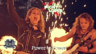 Смотреть клип Night Laser - Power To Power