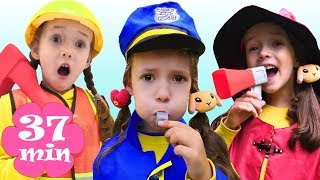 Ulya Choosing a New Professions | + More funny stories for kids