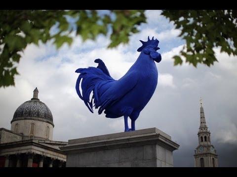 Синий петух теперь будет «жить» в центре Лондона (новости)