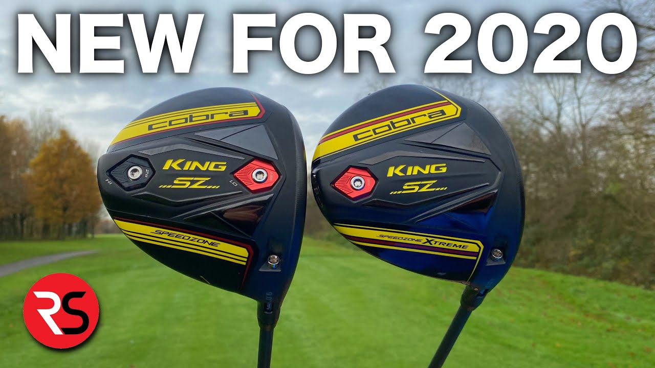 Best Golf Drivers 2020.First Look Cobra Speedzone 2020 Drivers