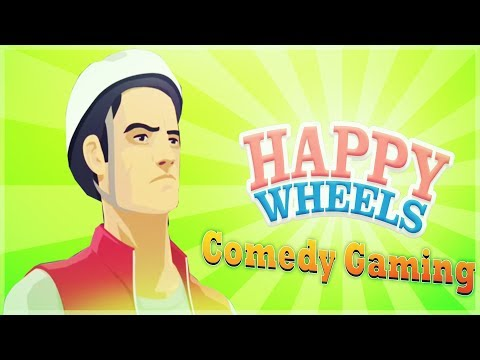 Happy Wheels - Aggressive Pogo Fight - 9.999991% Impossible - Comedy Gaming