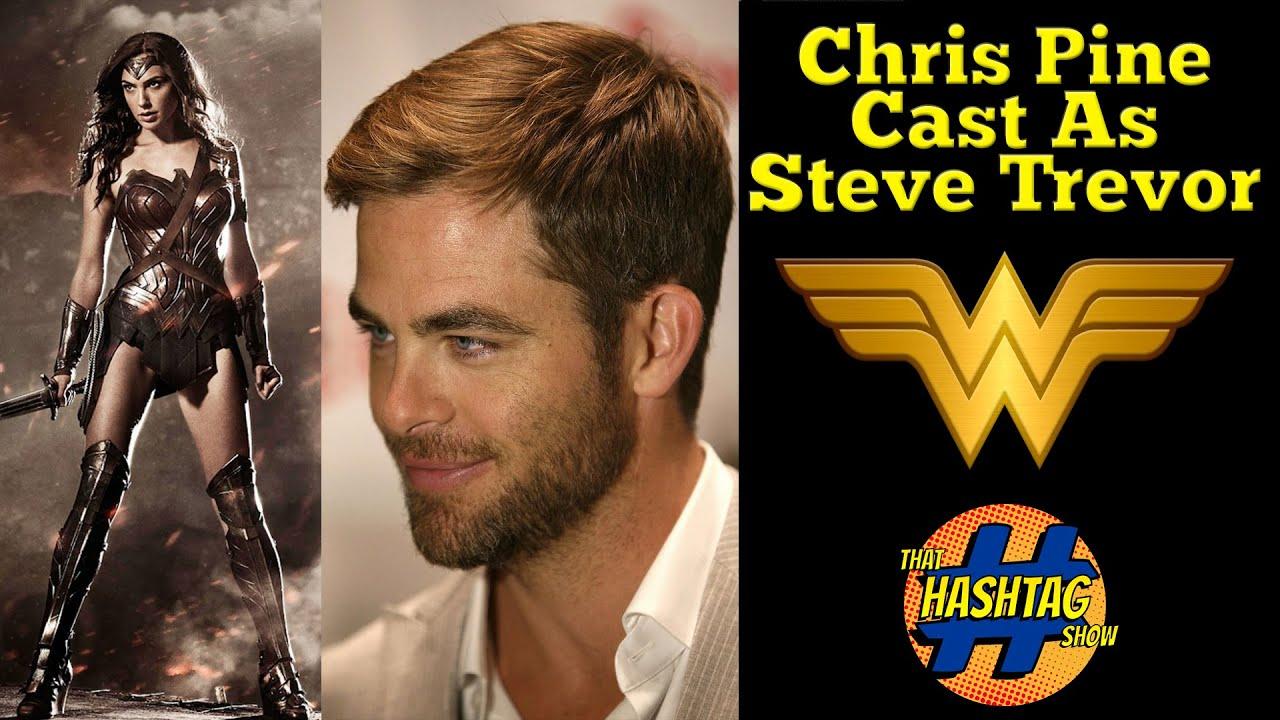 WONDER WOMAN MOVIE NEWS Chris Pine Has Been Cast As Steve Trevor