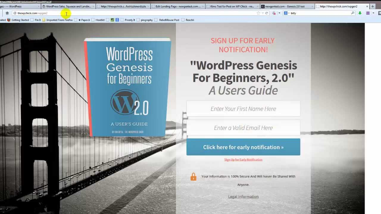 WordPress Sales Pages, Squeeze Pages and Landing Pages - LeadPages ...