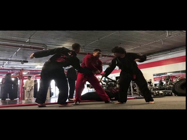 Alex Lee Stunt Training and Fury Team