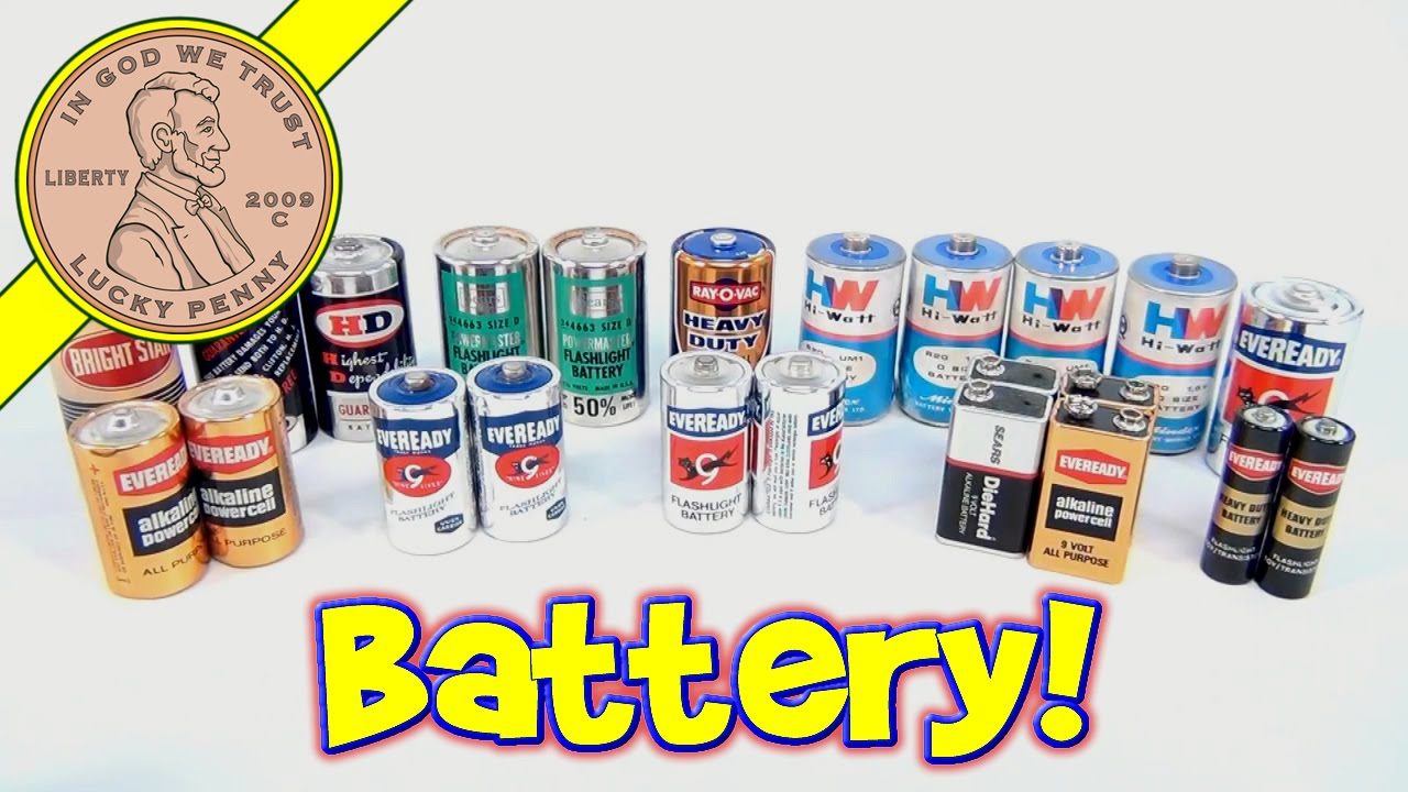 How To Dispose Of Batteries >> Vintage Battery Collection - Old Batteries from ...