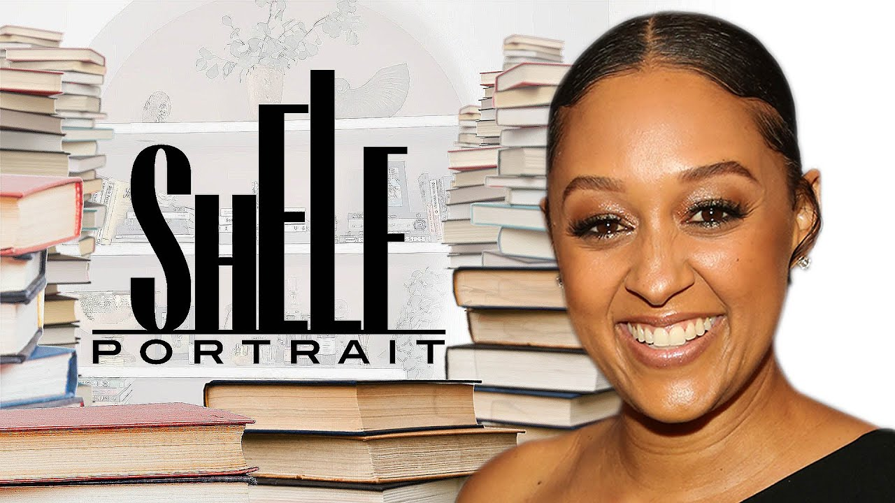 Tia Mowry's Bookshelf Tour Includes a Batch of Inspiring Titles | Shelf Portrait | Marie Claire