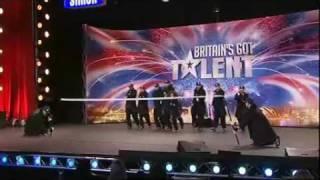 Diversity Street Dancers on Britains got Talent