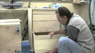 Shop Desk - Bench - Part 8 - Easy Drawer Fronts.mov