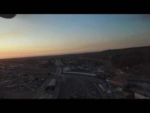 USA -MEX San Ysidro Border Drone Video~ The most important border crossing of the world.
