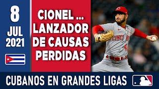 🇨🇺 RESUMEN CUBANOS en GRANDES LIGAS / 8 Jul 2021 ⭐
