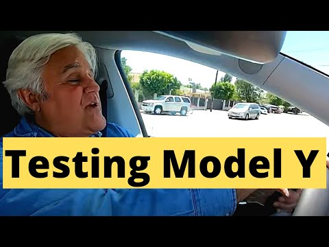 Jay Leno Talks About Tesla Model Y's Interior, Performance and Versatility