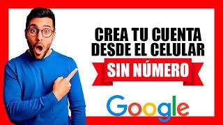 🤔 ¿Cómo crear cuenta de Google en Celular 2020? 👈👈