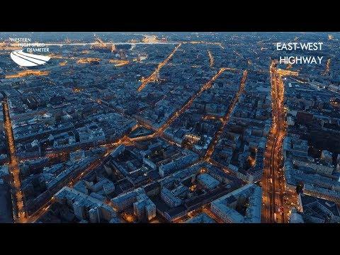 Концепт скоростной трассы в Санкт-Петербурге