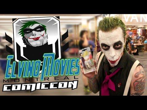 Comiccon MTL 2016 Elvino Movies Ze Joker