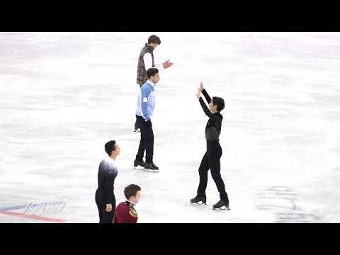 Group 4 introduce Short program(SP) 4K 180216 Pyeongchang 2018 Figure Skating Men Single