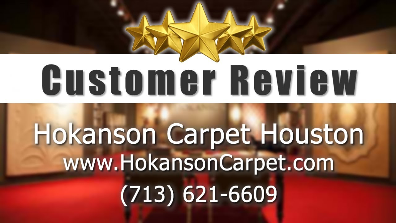 Hokanson carpet houston amazing 5 star review by wendt design group