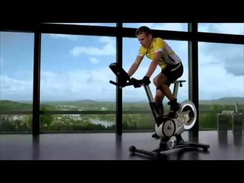 v lo de biking proform tour de france 123fitness youtube. Black Bedroom Furniture Sets. Home Design Ideas