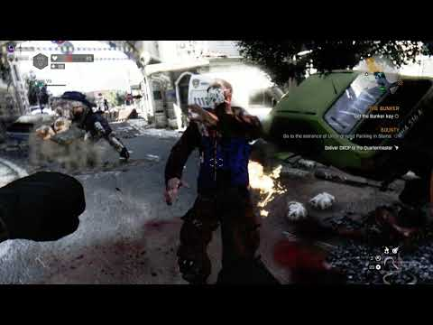 When an zombie game become to easy... |