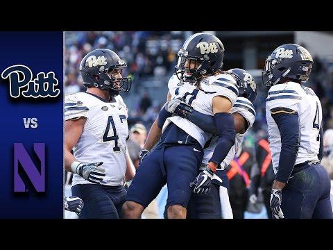 Pittsburgh vs. Northwestern Pinstripe Bowl Highlights (2016)