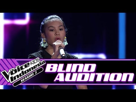 Vanessa -  Dusk Till Dawn | Blind Auditions | The Voice Kids Indonesia Season 3 GTV 2018