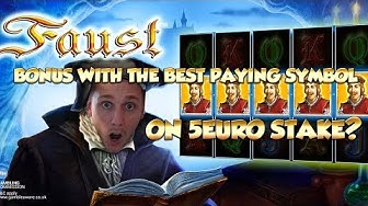 BIG WIN!!!! Faust - Casino Games - bonus round (Casino Slots)