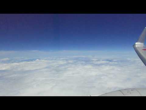 宮崎空港行き・雲の上