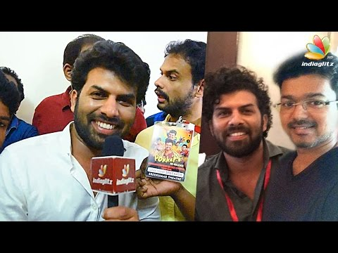 I am a big fan of Ilayathalapathy Vijay - Sunny Wayne | Pokkiri Simon